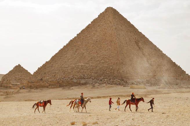 Giza, is the third largest city in Egypt CT