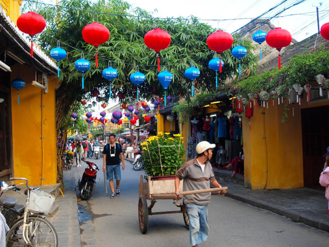 Hội An is a city on Vietnam's central coast known for its well-preserved Ancient Town CT