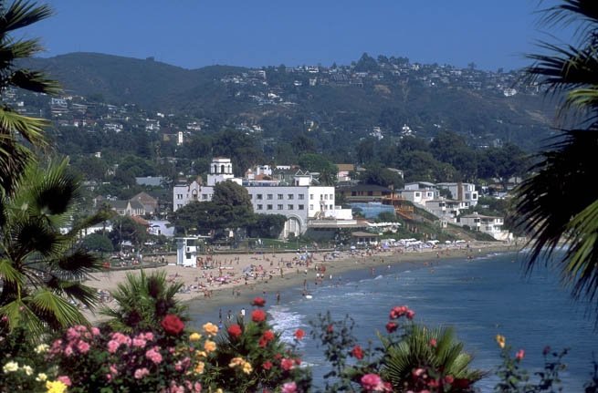 Laguna Beach is a seaside resort city located in southern Orange County, California CT