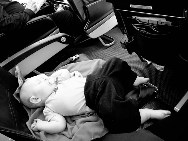 Nervous about taking your baby on a plane? Don't be, just follow these helpful hints to make the most out of the experience.