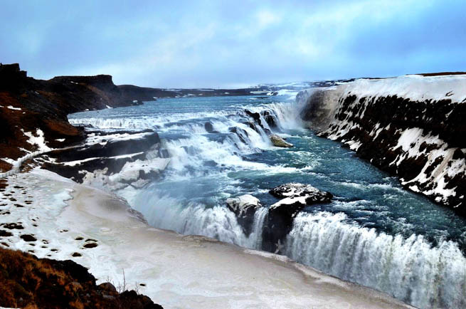 Iceland, a Nordic island nation, is defined by its dramatic volcanic landscape of geysers, hot springs, waterfalls, glaciers and black-sand beaches CT