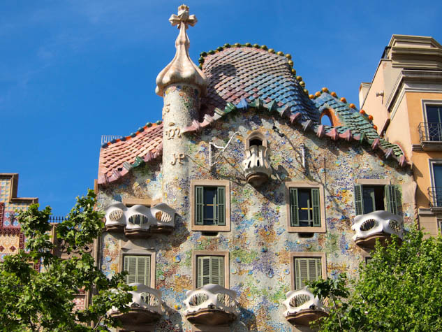 See some of the most famous architectural masterpieces in the world during your trip to Barcelona.