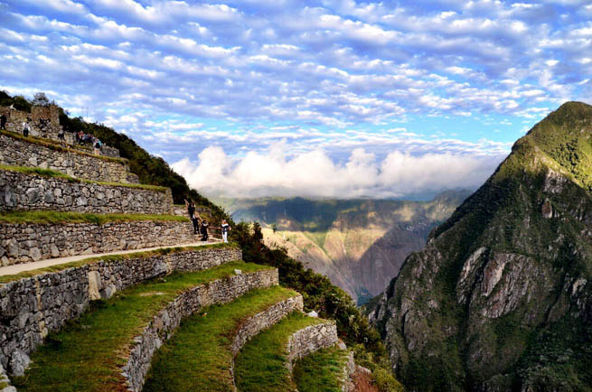 Machu Picchu is an Incan citadel set high in the Andes Mountains in Peru 2 CT