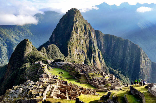 Machu Picchu is an Incan citadel set high in the Andes Mountains in Peru 3 CT