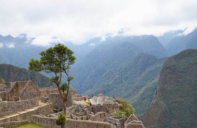 Machu Picchu is an Incan citadel set high in the Andes Mountains in Peru 5 CT