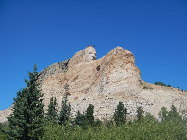 Learn more about the Crazy Horse Memorial in South Dakota.