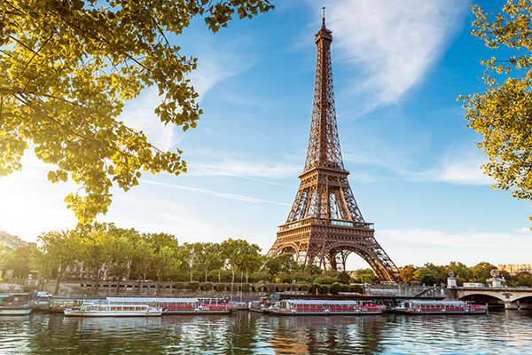 Paris, France, is a top destination for tourists