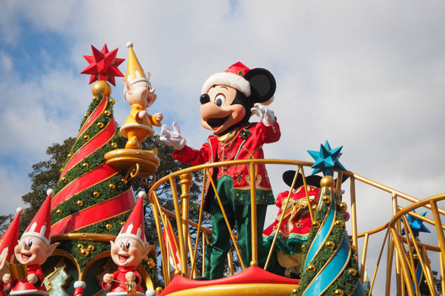 Explore Christmas in an unlikely but festive location - Tokyo Disney!