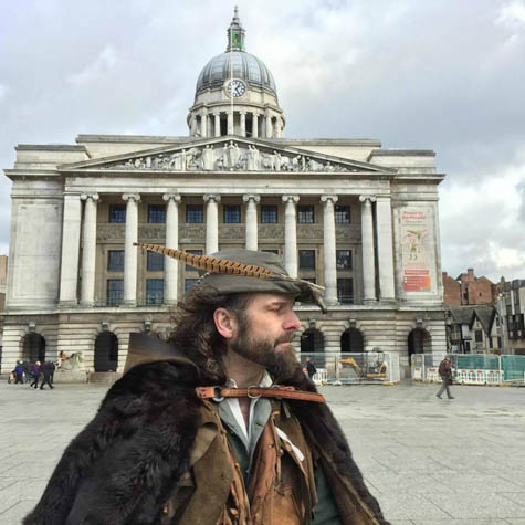 Explore beautiful Nottingham, England as you visit the sites made famous by Robin Hood.