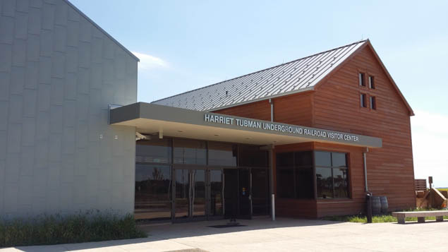 Plan a visit to the brand new Harriet Tubman Center in Maryland.