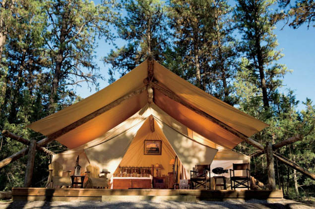 Even non-campers will love these luxurious glamping resorts around the country.