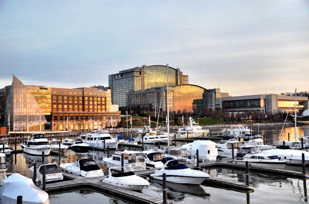 On your next visit to DC stay at National Harbor and see a different side to the capital city.
