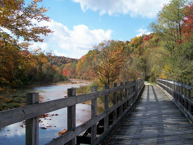 Get fit on your next trip by visiting one of these amazing rails to trails destinations.