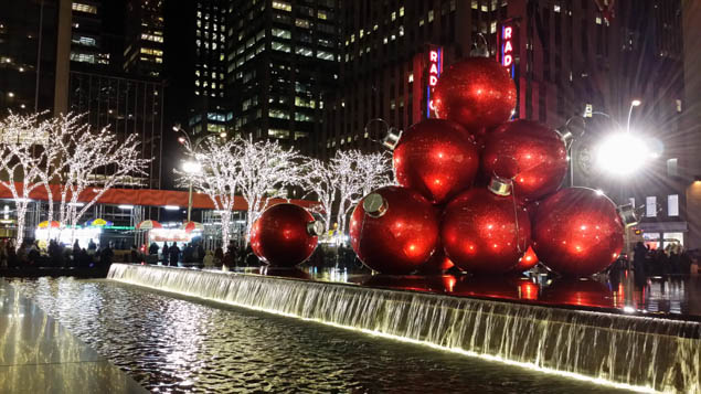 Visit New York City during the holiday season to experience one of the most festive cities in the world.