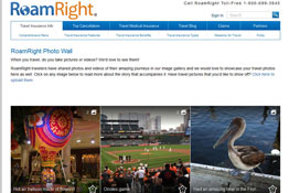 RoamRight launches a community photo wall to share traveler photos and videos.