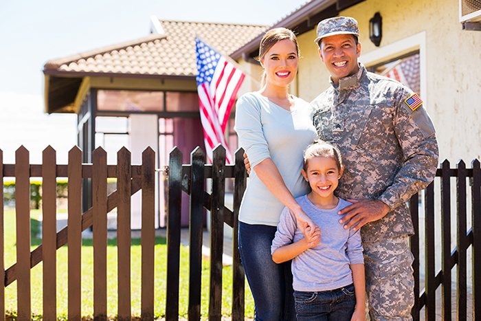 Travel insurance for military families